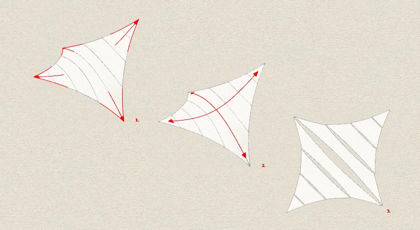 Conceptos básicos de las tensoestructuras para un correcto proyecto de Arquitectura Textil